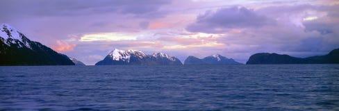 Bahía de la resurrección y parque nacional de los fiordos de Kenai, Fotografía de archivo libre de regalías