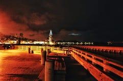 Bahía de la tempestad de truenos Foto de archivo libre de regalías