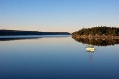 Bahía de la tranquilidad Foto de archivo libre de regalías