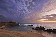 Bahía de las huellas Fotografía de archivo libre de regalías