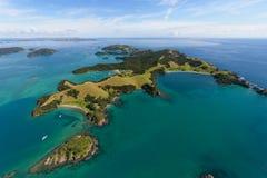 Bahía de las islas NZ Fotos de archivo libres de regalías