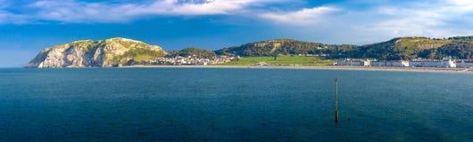 Bahía de Llandudno fotografía de archivo libre de regalías