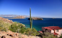 Bahía de Loreto Foto de archivo libre de regalías