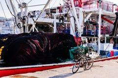 Bahía de los pescadores de Yalova Turquía Imágenes de archivo libres de regalías