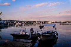 Bahía de los pescadores de Yalova Turquía Foto de archivo