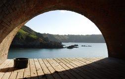 Bahía de los santos Foto de archivo libre de regalías