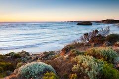 Bahía de mártires, gran camino del océano fotografía de archivo
