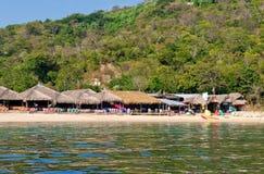 Bahía de Magay en Mexio Foto de archivo