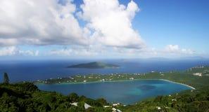 Bahía de Magen en St Thomas Imagen de archivo libre de regalías