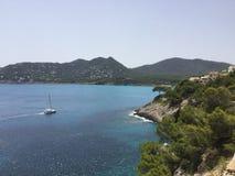 Bahía de Mallorca Fotografía de archivo libre de regalías