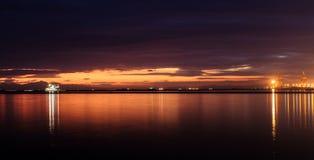 Bahía de Manila Fotos de archivo libres de regalías