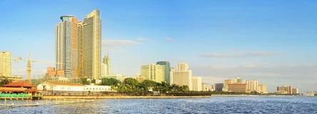 Bahía de Manila del metro Fotografía de archivo libre de regalías