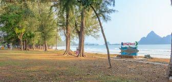 Bahía de Manow, naturaleza Tailandia Fotografía de archivo