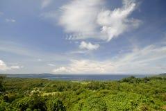 Bahía de Mele, Vanuatu Imagenes de archivo