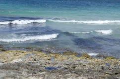 Bahía de Mellieha Foto de archivo libre de regalías