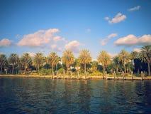 Bahía de Miami Fotografía de archivo libre de regalías