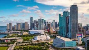 Bahía de Miami con Jetski almacen de video