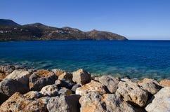 Bahía de Mirabello Imagen de archivo