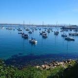 Bahía de Monterey fotografía de archivo libre de regalías