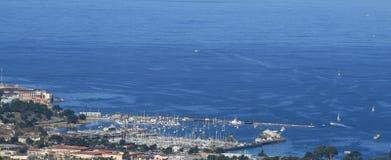 Bahía de Monterey Fotografía de archivo