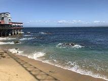 Bahía de Monterey imágenes de archivo libres de regalías