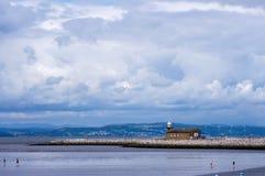Bahía de Morecambe imagenes de archivo