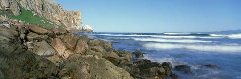 Bahía de Morro, California foto de archivo libre de regalías