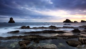 Bahía de Mupe Fotos de archivo libres de regalías