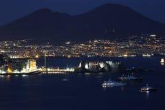 Bahía de Nápoles Fotografía de archivo libre de regalías
