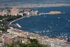 Bahía de Nápoles Imagen de archivo libre de regalías