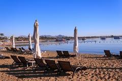 Bahía de Naama en Sharm El Sheikh Fotografía de archivo