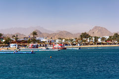 Bahía de Naama en Sharm El Sheikh Imágenes de archivo libres de regalías
