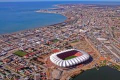 Bahía de Nelson Mandela del aire Fotografía de archivo libre de regalías