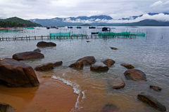 Bahía de Nha Trang Fotos de archivo