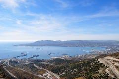Bahía de Novorossysk Imágenes de archivo libres de regalías