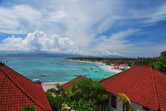 Bahía de Nusa Lembongan Foto de archivo