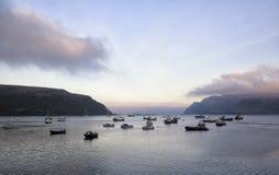 Bahía de Oban Fotos de archivo libres de regalías
