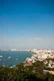 Bahía de Pattaya en Tailandia Fotografía de archivo