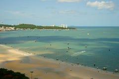 Bahía de Pattaya, Tailandia. imagenes de archivo