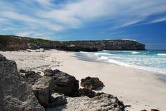 Bahía de Pennington en la isla del canguro Fotografía de archivo