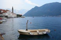 Bahía de Perast de Kotor montenegro Fotografía de archivo libre de regalías