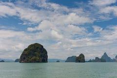 Bahía de Phang Nga Imagen de archivo libre de regalías