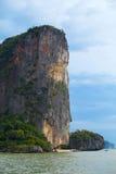 Bahía de Phang Nga Fotografía de archivo libre de regalías