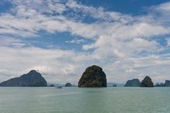 Bahía de Phang Nga Imágenes de archivo libres de regalías