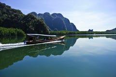 Bahía de Phang-nga, Tailandia Imagen de archivo