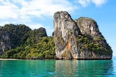 Bahía de Phang Nga, Tailandia Foto de archivo