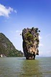 Bahía de Phang Nga, Tailandia Foto de archivo libre de regalías