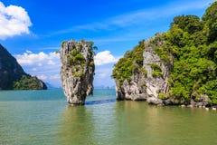 Bahía de Phang Nga, Tailandia imagen de archivo libre de regalías
