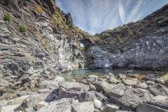Bahía de piedra Fotografía de archivo libre de regalías