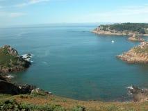 Bahía de Portelet, Jersey Fotos de archivo